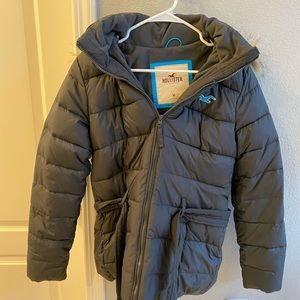 Hollister Puff Jacket with Furr Hood